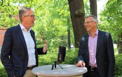 BNW-Geschäftsführung Tobias Lohmann (Sprecher) und Bastian Schmidt-Faber
