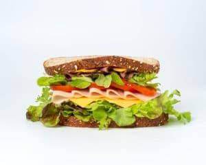 Belegtes Sandwich